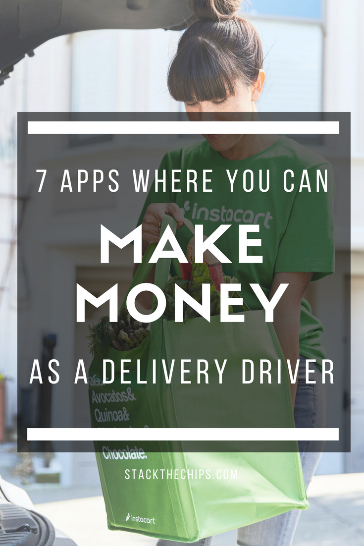 Apps To Make Money Delivering Goods